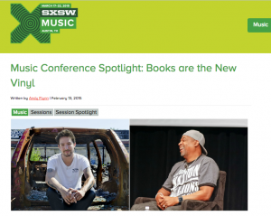 sxsw 2015 sotlight booksarethenewvinyl 1